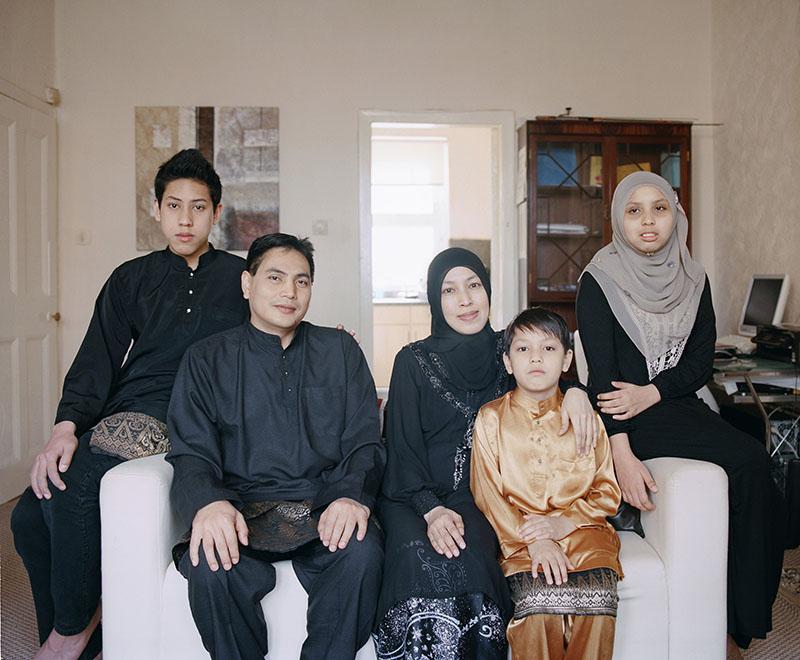 The Huzir Family Malaysia / Scotland