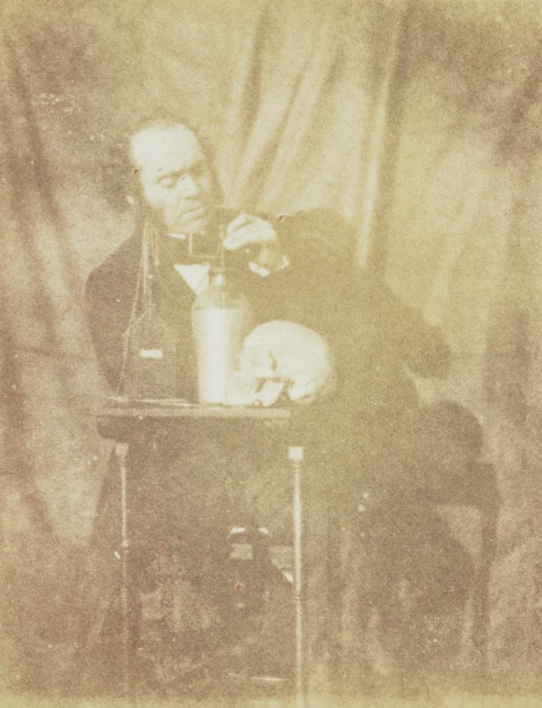 John Muir Wood, Dr James Jasper MacAldin, fl. 1826 - 1877. Eye surgeon by John Muir Wood