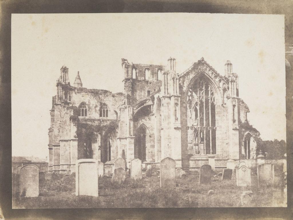 Melrose Abbey by John Muir Wood