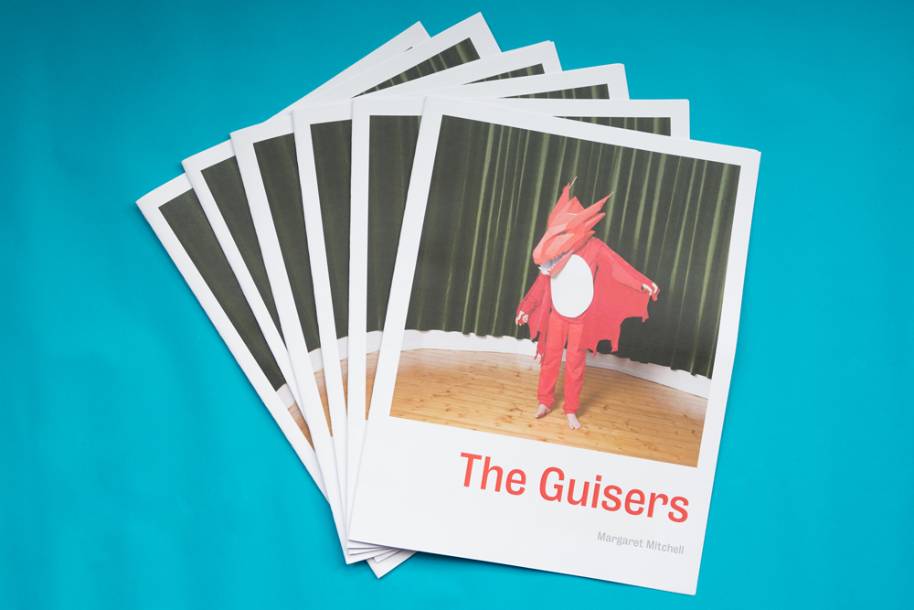 The Guisers, newsprint publication by Margaret Mitchell