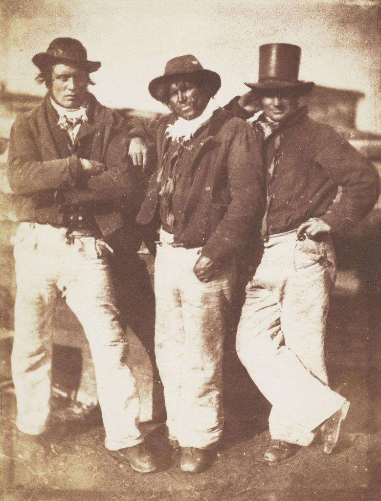Three Newhaven fishermen